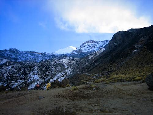 Trail to the labyrinth, Orizaba