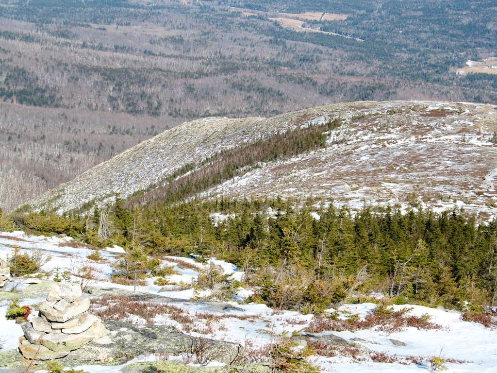 eastern spur of South Baldface