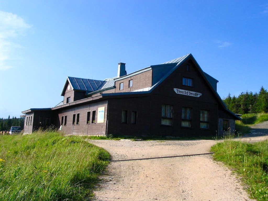 Vosecká bouda(1260m),Krkonoše.8/2005