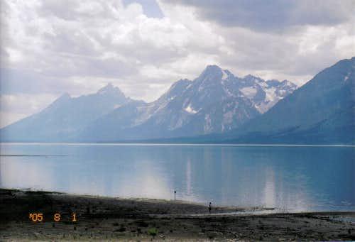 Teewinot and Lake