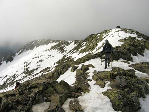 Summit ridge of Ocejón