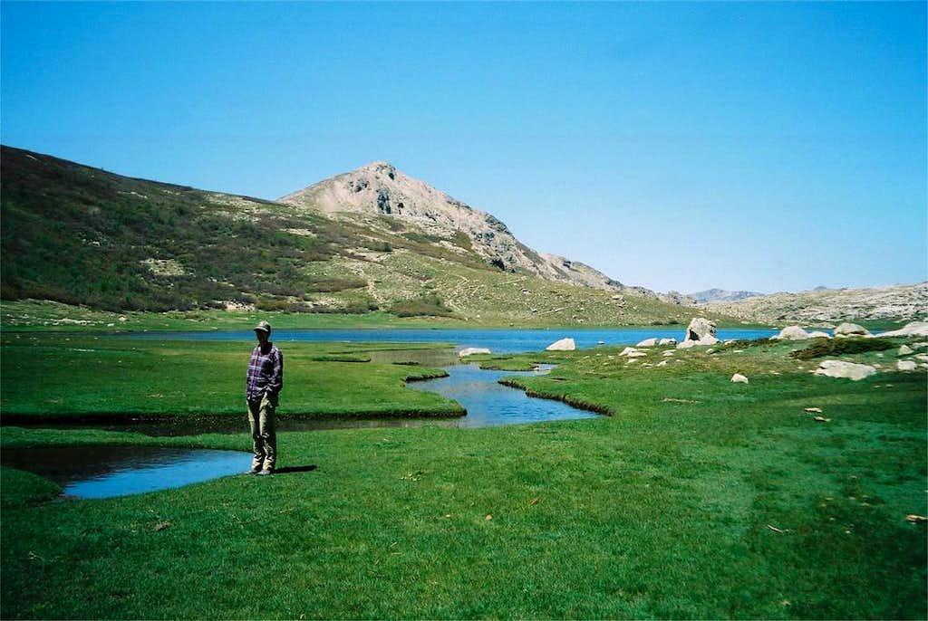 Lac de Nino and Monte Tozzo (2007m)