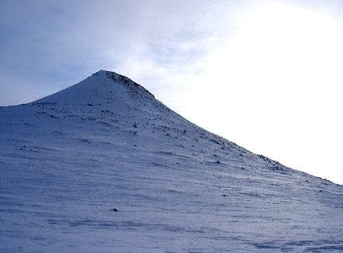 The summit of Städjan