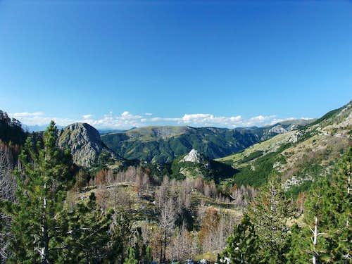 Planinica from Mokro-Ubli-Podgorica road