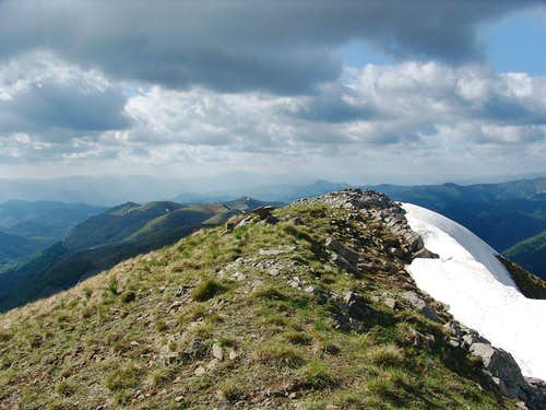 Crna planina from the summit of Maglic (Kucki)