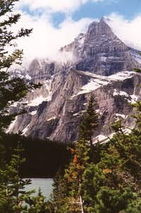 Grinnell Glacier Trail View of Mount Gould