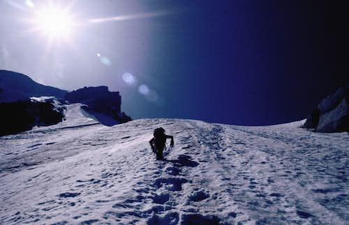 Mont Blanc · Bovin-Vallençant Couloir