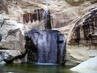 Waterfall in Mud Springs Canyon