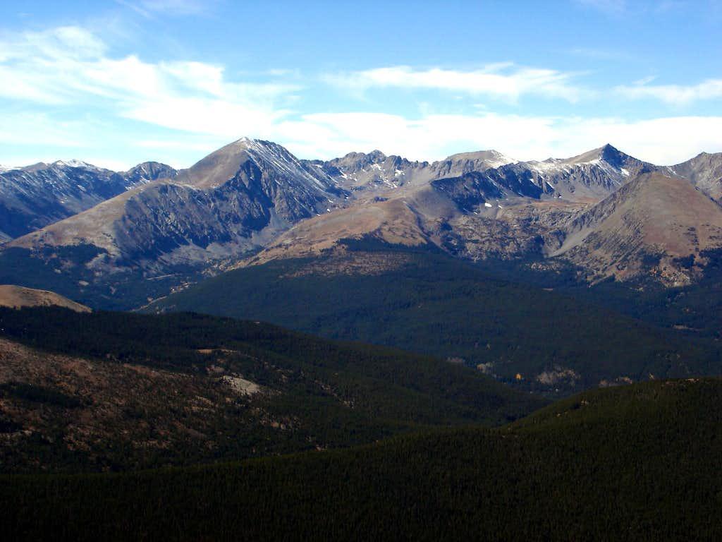 Ten Mile Range Panoramic