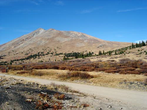 Bald Mountain from Boreas Pass