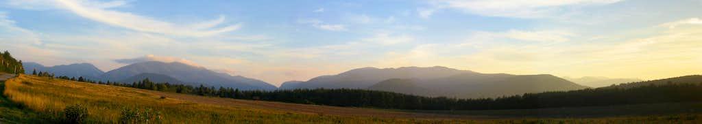 Adirondacks from Rt 73