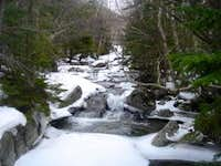 One of the many rivers crossed on the way to Mt. Marcy