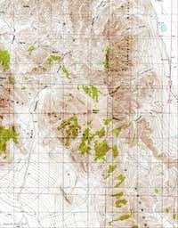 Messix Peak Map
