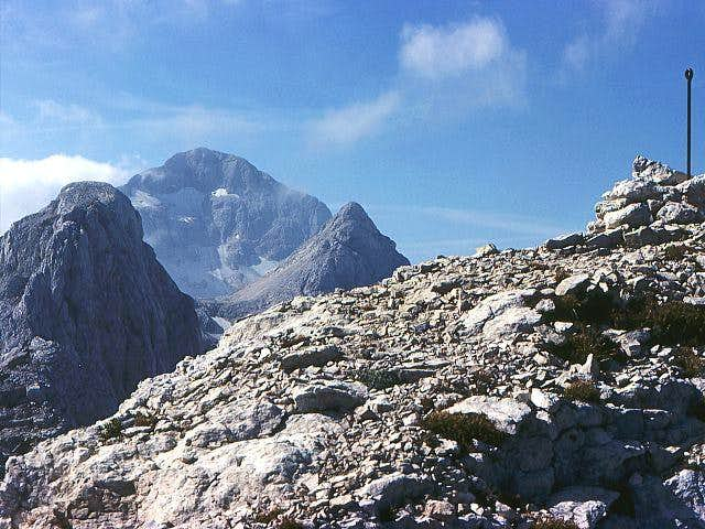 Triglav summit from...