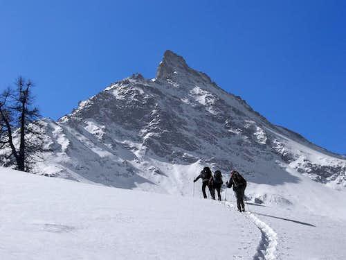 At the foot of Gran Nomenon <i>3488 m</i>