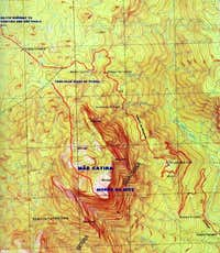 Map of Morro do Sete