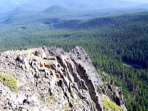 Cowhorn Mountain.