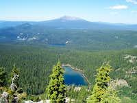 A view of Diamond peak.