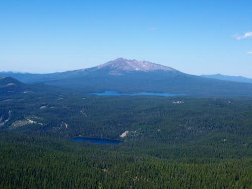Sawtooth mountain.