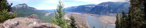 Panoramic View from Beacon Rock