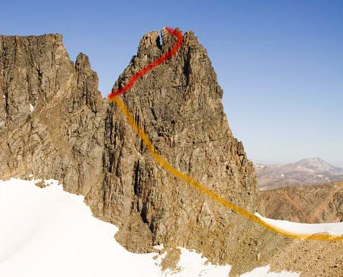 Castle Rock Spire Classic Route