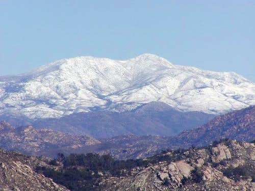 cuyamaca peak,winter