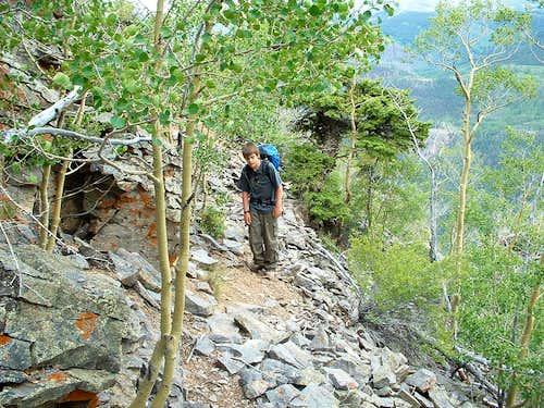 Good Idea of the East Ridge