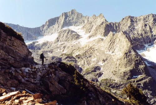 North Face of Eagle Scout Peak