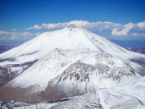 Snowy volcanoes