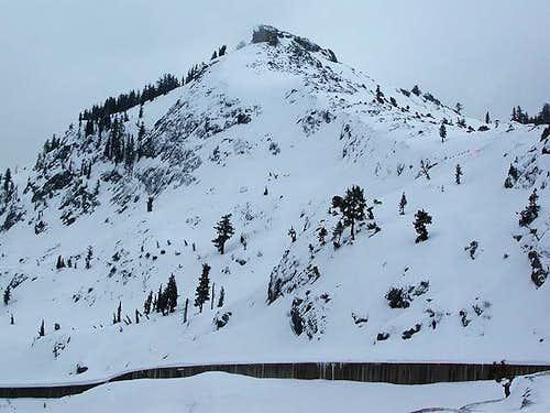Donner Peak didn't look...