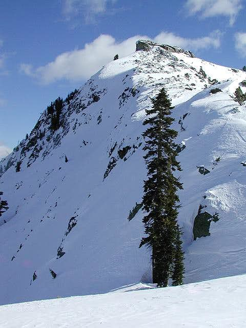 Donner Peak\'s North Face on...