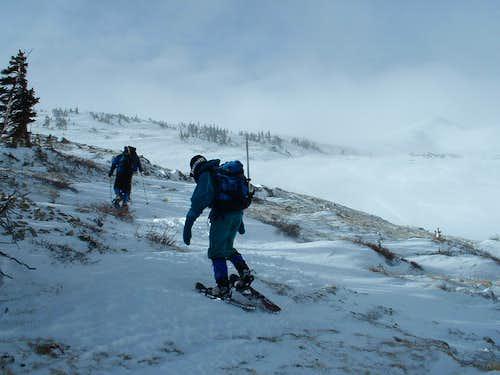 Relentless December Winds on Horseshoe Mountain