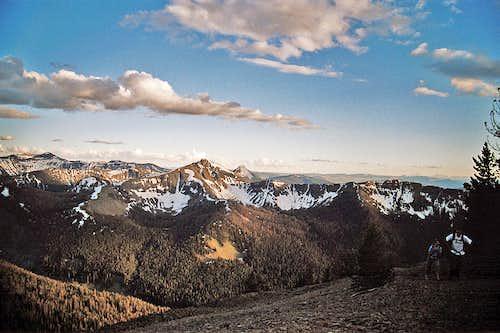 trail to Avalanche Peak