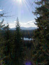 Klaus Lake from Fuller Mountain Trail