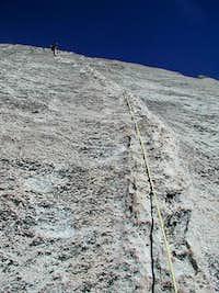 Bob leading our simulclimb...