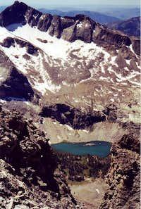 Kane lake and the Salzburger Spitzl