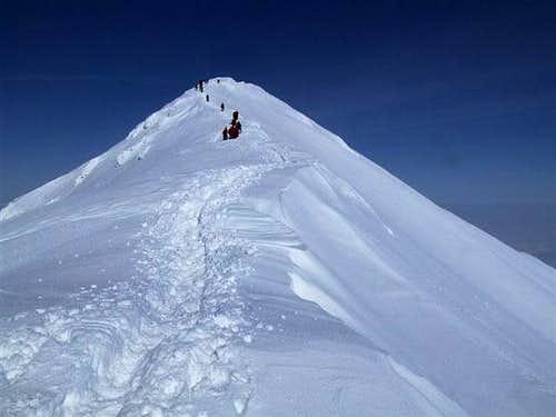 Ljuboten peak - winter climb