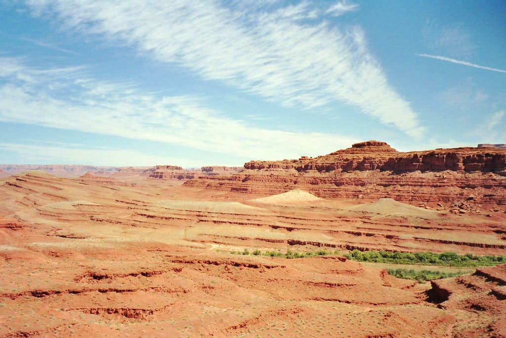 View from MExican Hat