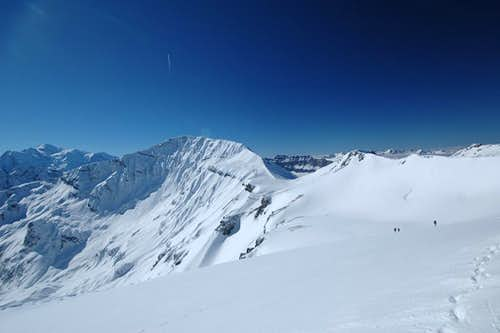 Mont Buet in februari