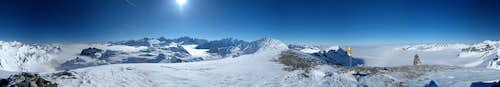 360° pano on top of Cheval Blanc