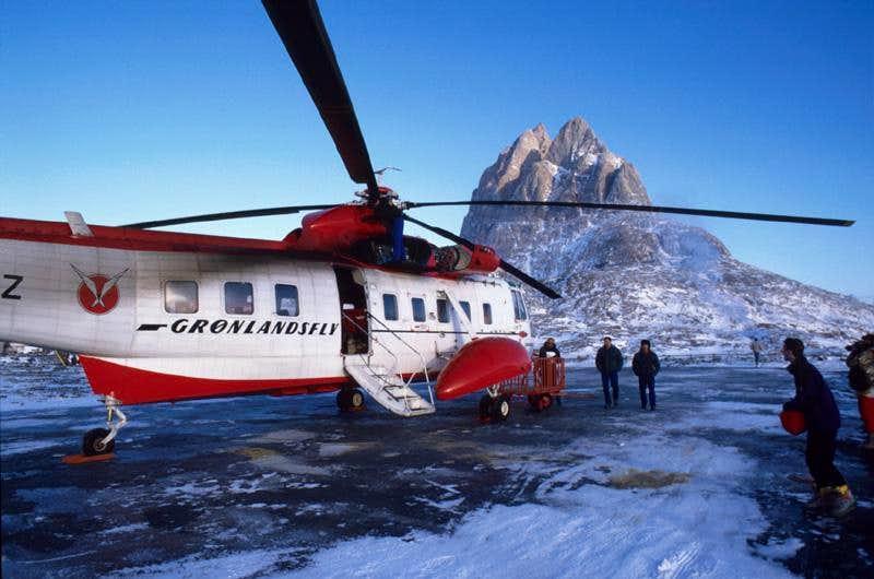 Winter in Northwest of Greenland