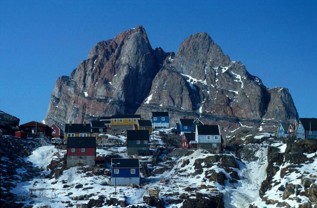 Wintertime in Greenland