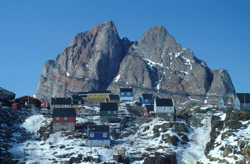 Wintertime in Greenland