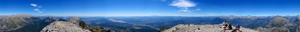 360° pano on the summit of the Peña Montañesa