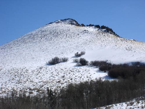 NW Side of Rooster Comb Peak
