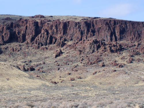 Owyhee Outcropping