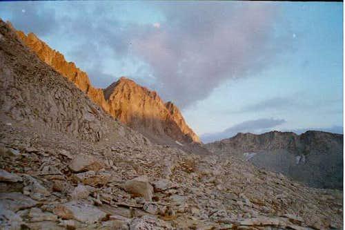 Thunderbolt Peak as seen from...