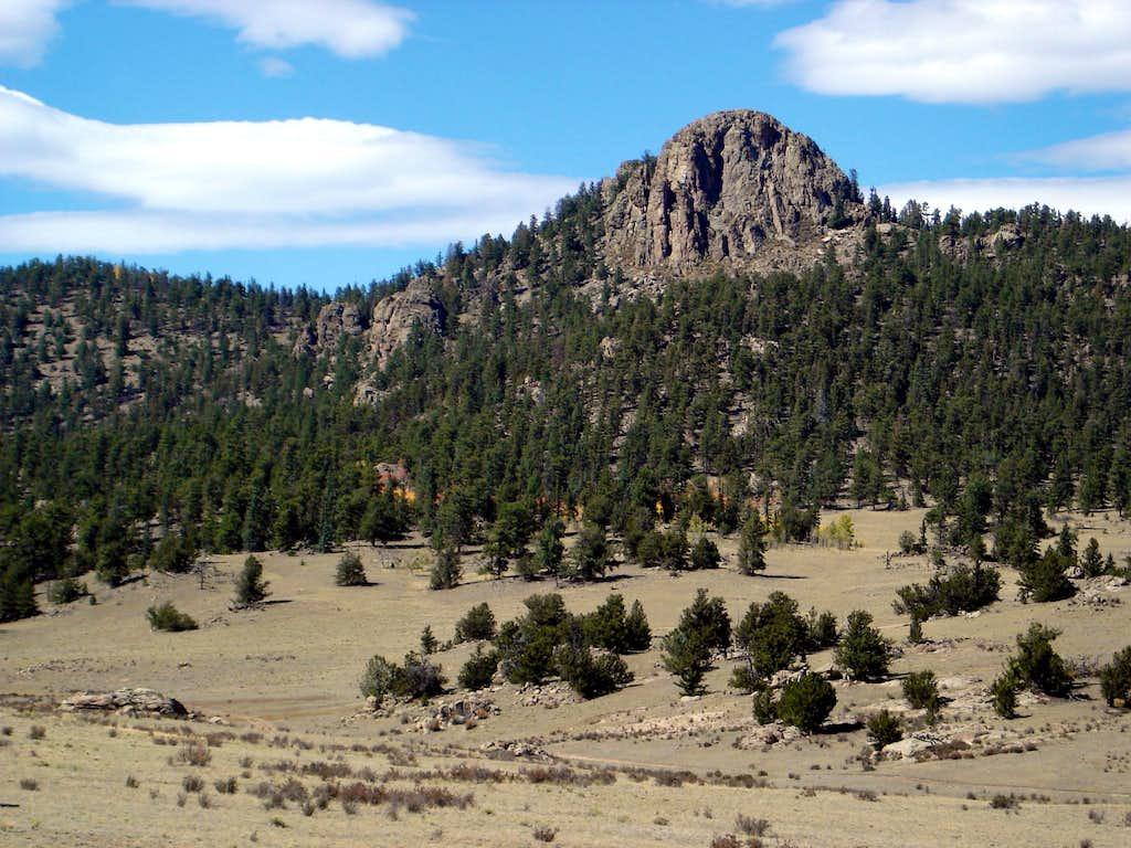 Approaching Observatory Rock