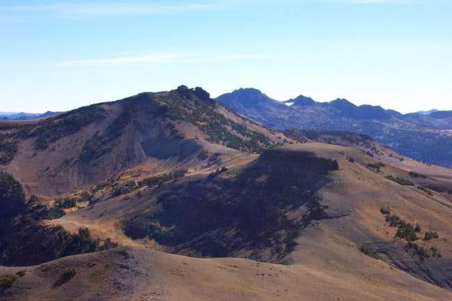 Red Lake Peak from the summit...