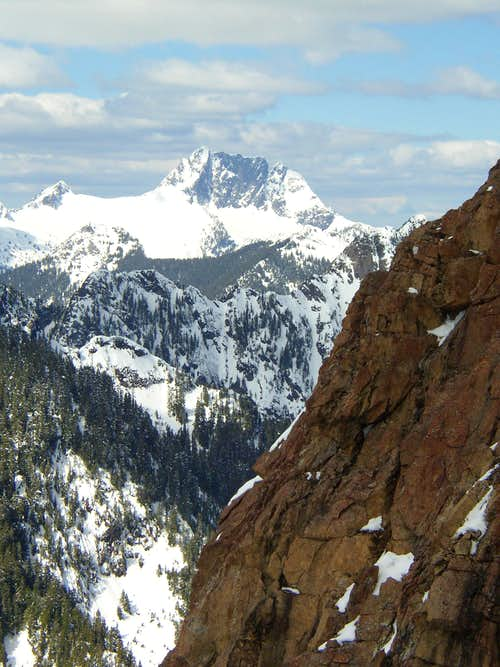 Whitehorse from Devils thumb